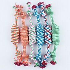 Pet Toy Rope 8 Rope Ball Braided Knot  Pet Puppy Chew Products Random #HD3