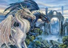 "Jigsaw Puzzles 1000 Pieces ""Mystical dragon"" / Ravensburger / Fantasy"