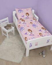 Disney Sofia The First Junior 4 in 1 Bed Set Duvet & Cover Bundle Cot Toddler