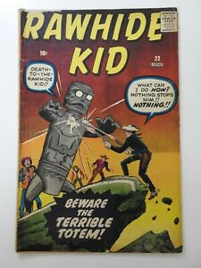 """Rawhide Kid #22 """"Beware The Terrible Totem!"""" Solid VG Condition!!"""