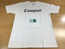 SSUR Old English Compton California Short Sleeve Tee Shirt White Red Size L