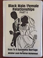 Louis Farrakhan Black Male Female Relationships Pt 2 AudioCassette Series1983-85