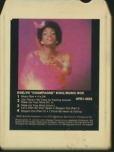 8 Track Tape - Evelyn Champagne King - Music Box - RCA AFS1-3033