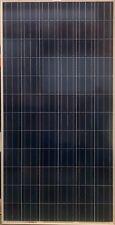 Used 270W 72 Cell Polycrystalline Solar Panels 270 Watts Vinyl Cracking