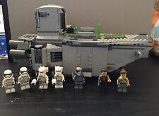 Lego Star Wars Set First Order Transporter 75103 Complete.
