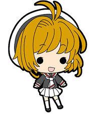 Card Captor Sakura Sakura w/ School Uniform Mini Rubber Strap NEW