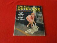Vintage Official Detective Stories Magazine July 1963                         VV