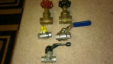 """Ball Valves 1/4"""" And 1/2"""""""
