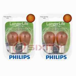 2 pc Philips Front Turn Signal Light Bulbs for Scion tC 2014-2016 Electrical ig