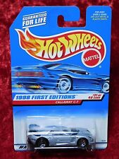 1998 Hot Wheels First Editions Callaway C-7 Corvette With Plastic Headlights
