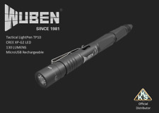 Tactical Light Pen XP-G2 LED 130Lumens MicroUSB Rechargeable Waterproof - GREY
