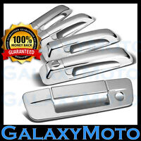 Chrome 4 Door Handle+Tailgate w/KH+no Camera Hole Cover for 09-18 Dodge Ram