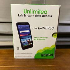 """New Alcatel Verso 5044C Cricket 4G LTE 16GB 5"""" 5MP Smartphone"""