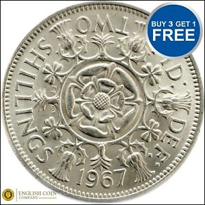 1953 to 1967 Elizabeth 2 Two Shilling / Florins Choice of Date