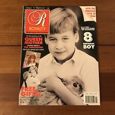 =Royalty Magazine Volume 9 No 10 July 1990 Prince William is 8