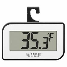 314-152W La Crosse Technology Digital Thermometer with Large Temperature Display