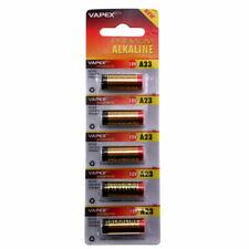 5 x Vapex A23 12V Battery 23AE 23A LRV08 MN21 E23A K23A