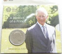 2018 Royal Mint Prince Charles 70th Birthday £5 Five Pound Coin Pack Sealed