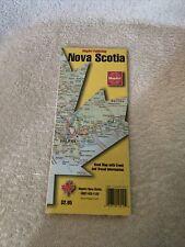 Nova Scotia Roadmap My MapArt Publishing