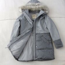Womens Hollister by Abercrombie & Fitch Quilted Water Resistant Jacket Size L