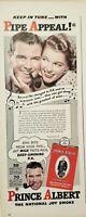 Lot of 3 Vintage 1940'S Prince Albert Smoking Tobacco Advertisements Pipe Appeal