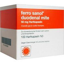 FERRO SANOL duo mite 50mg magens.r.Pel.i.Kps. 100St 940890