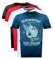 T-shirt maglia  GEOGRAPHICAL NORWAY maniche corte Short Sleeves JARLEY men uomo