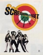 Screaming Target B.A.D. Clash Don Letts VOX LP advert