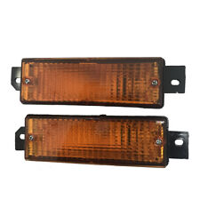 1pair Yellow Front Bumper Corner Signal Light For BMW E30 M40 318i 320i 325i