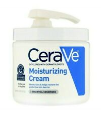 453g 16oz cerave Pump moisturizing cream for normal to dry skin repair eczema