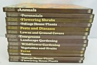 Lot of 14 Volumes The Time-Life Encyclopedia of Gardening Hardcover Books