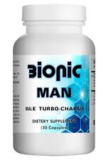 Bionic Man - Natural Strong Herbal Pills for Men 30 Pills Bottle USA