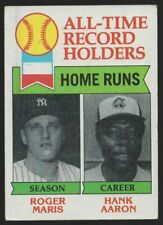 1979 TOPPS #413 ROGER MARIS and HANK AARON