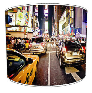 New York The Big Apple Lampshades Ideal To Match new York Cushions & USA Duvets