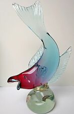 Extremely Large Murano Art Glass  Alfredo Barbini Fish Import From Weil Ceramics