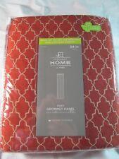 "NIP JCPENNEY HOME RORY GROMMET PANEL ,Redwood, 50"" W X 84"" L Energy Saving"