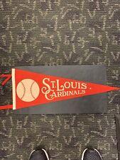ST.LOUIS CARDINALS  Circa 1950'S VINTAGE MLB BASEBALL PENNANT NEAR MINT