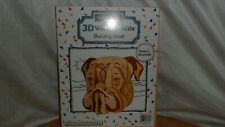 new 3d wooden puzzle bulldogs head