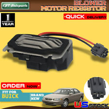 HZYCKJ HVAC Blower Motor Resistor OEM # 52398036 89019166 93733635 93734352 52442021 Compatible for Buick Century Regal Corvette Intrigue Grand Prix