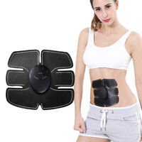 Abdominal Muscle Toner Abs Stimulator Trainer EMS Machine Toning Belt Gel Pad