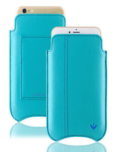 iPhone 11   iPhone XR Case BLUE Faux NueVue SANITIZING Screen Cleaning WALLET