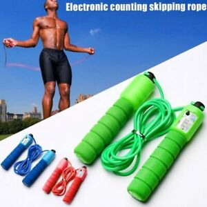Corde à Sauter Fitness Boxe Crossfit Sauter Rapide Poingée Confortable