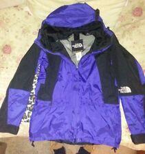 the north face mens jacket gore tex blue black vintage size large L vtg