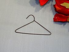 3 Inch Black Wire Doll Clothes Hangers, by the dozen