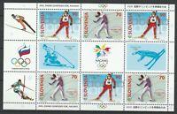 Slovenia 1998 Olympic Games - Nagano MNH sheet