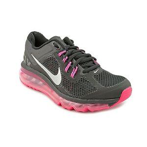 Youth's Nike Air Max 2013  GS Black Sliver Dark Grey 6.5Y 555753 001  MSP$140