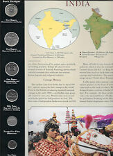 Coins from Around the World India1998 - 2003  BU UNC 5 Rupees 2002