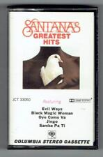 SANTANA Greatest Hits ~ Cassette Tape