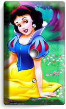 SNOW WHITE PRINCESS LIGHT DIMMER CABLE WALL PLATE GIRLS BEDROOM DECOR PLAY ROOM