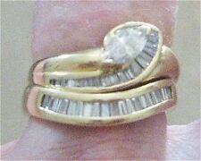 MARQUISE Diamond VS2 H 18ct Gold + matching Diamond Band REDUCED #Sunday Market